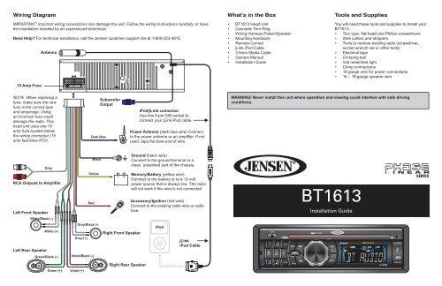 Installation Guide - Jensen Car Audio Australia on accel ecm wire diagram, jensen cd3010x wiring harness, jensen speaker, jensen vm9312 wiring, jensen tools, jensen din 8 pin,