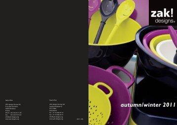 autumn/winter 2011 - zak!designs Europe