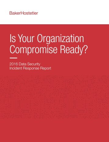 Is Your Organization Compromise Ready?