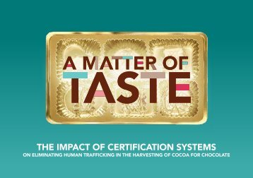 THE IMPACT OF CERTIFICATION SYSTEMS