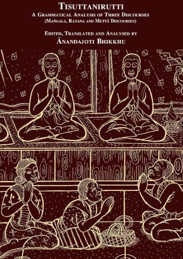 Tisuttanirutti, A Grammatical Analysis of Three Discourses