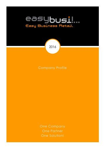 easybusi company profile 2016
