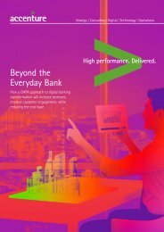 Beyond the Everyday Bank