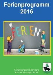 Ebersberger Ferienprogramm 2016