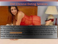 Hot and Amazing Dating service in Chennai