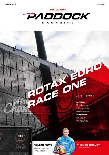 RGMMC Paddock Magazine