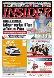 INSIDER Osnabrück // April 2016 // No. 393