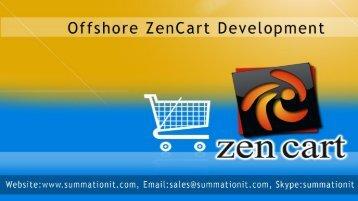 Offshore-Zen Cart- ecommerce- website - development- Hire - Zencart- Developers
