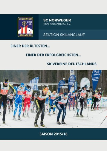 Saison 2015/16 - Skilanglauf - SC Norweger 1896 Annaberg e.V.