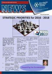LIS Newsletter Issue 20, April 2016