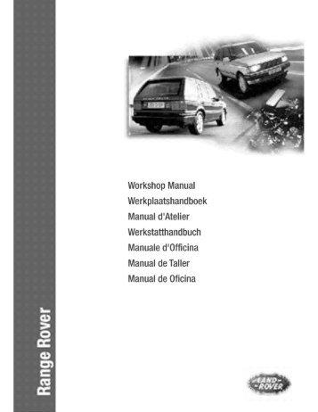 range rover rave workshop manual 2 rh yumpu com rave manual range rover rave manual range rover p38