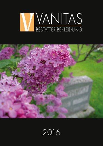 Vanitas Katalog 2016