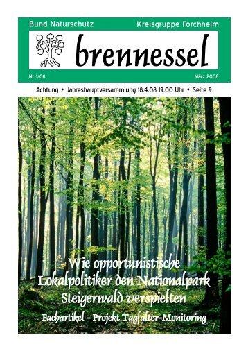Aus der Kreisgruppe - Bund Naturschutz in Bayern eV