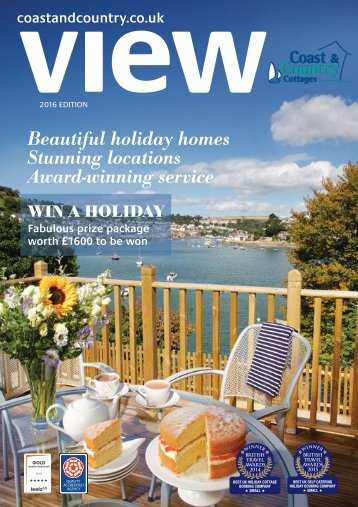 Beautiful holiday homes Stunning locations Award-winning service