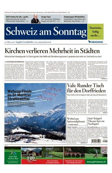 Schweiz am Sonntag vom 20.03.2016 F3