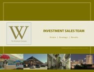 The Woodmont Company - Investment Team