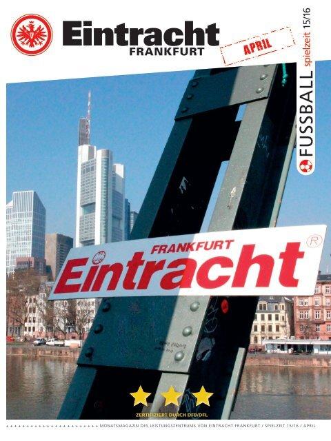 Eintracht Frankfurt Spielzeit 15/16 April 2016