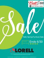 Lorell Hello Spring Sale