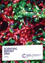 SCIENTIFIC REPORT 2015