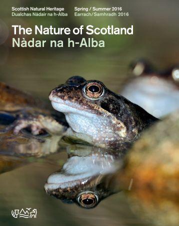 The Nature of Scotland Nàdar na h-Alba