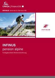 INFINUS pension alpine - INFINUS AG - Ihr Kompetenz-Partner