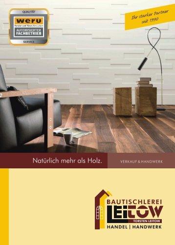Bautischlerei Magazine