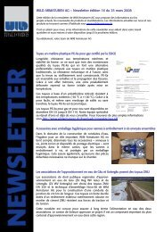 WILD ARMATUREN AG – Newsletter édition 16 du 25 mars 2008