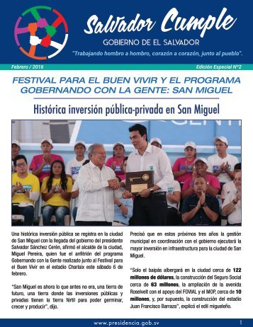 Salvador Cumple Edición 2