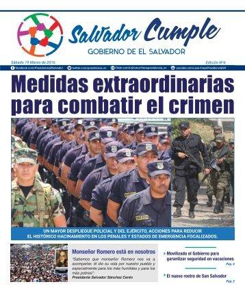 Salvador Cumple Edición 6