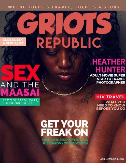 GRIOTS REPUBLIC - An Urban Black Travel Mag - April 2016
