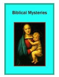 Biblical Mysteries
