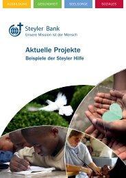 Gesamtkosten: 11.500 - Steyler-Bank GmbH: Home