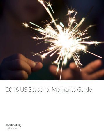 2016 US Seasonal Moments Guide