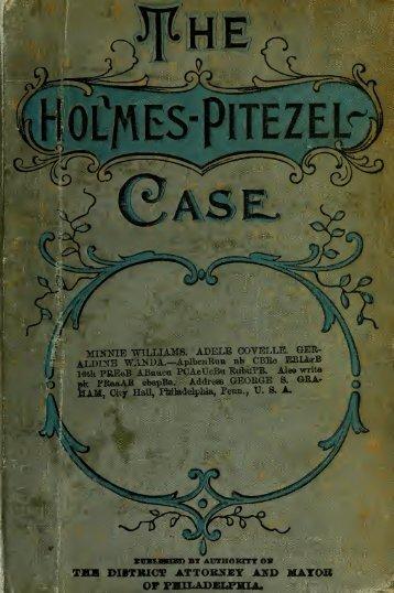 The Holmes & Pitezel Case