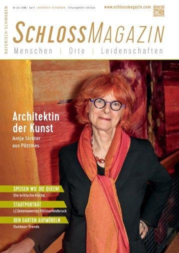 SchlossMagazin Bayerisch-Schwaben April 2016