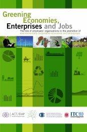 Greening Economies Enterprises and Jobs