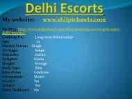 Delhi Escorts,Delhi Call Girls, Escorts Service in Delhi