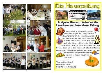 Heft 3/2010 - AWO Bezirksverband Weser-Ems