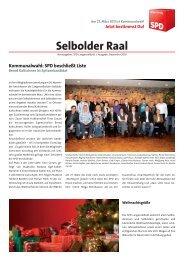 Selbolder Raal Kommunalwahl - SPD Langenselbold