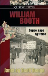 William Booth - Kristne helter serien