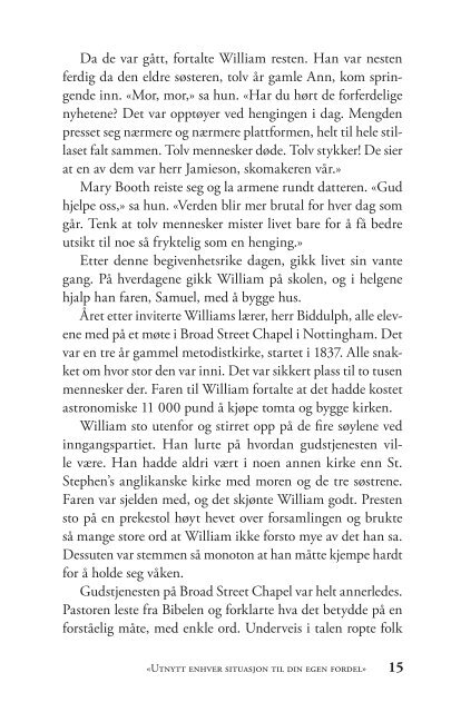 William Booth - Kristne helter serien