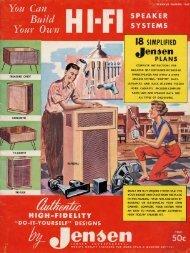 SPEAKER s Y s T E M s I8 SIMPLIFIED - Antique Radios