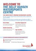 WELCOME TO THE HELLY HANSEN WATERSPORTS CENTRE - Page 2
