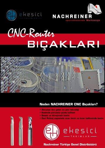 eKesici Takımlar - Nachreiner CNC Router Katalog