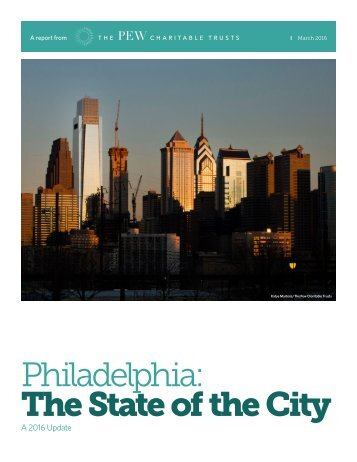Philadelphia The State of the City