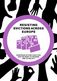 resisting Evictions across europe