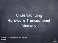 Understanding Hardware Transactional Memory