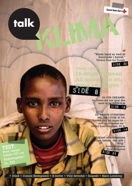 16-årige Husseen Ali spiser kun en gang om dagen - Climate Centre