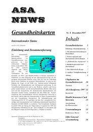 ASA NEWS - ASA - Austrian Smart-Card Association