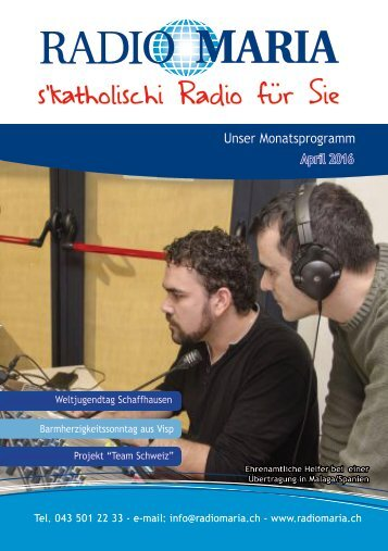 Radio Maria Schweiz - April 2016